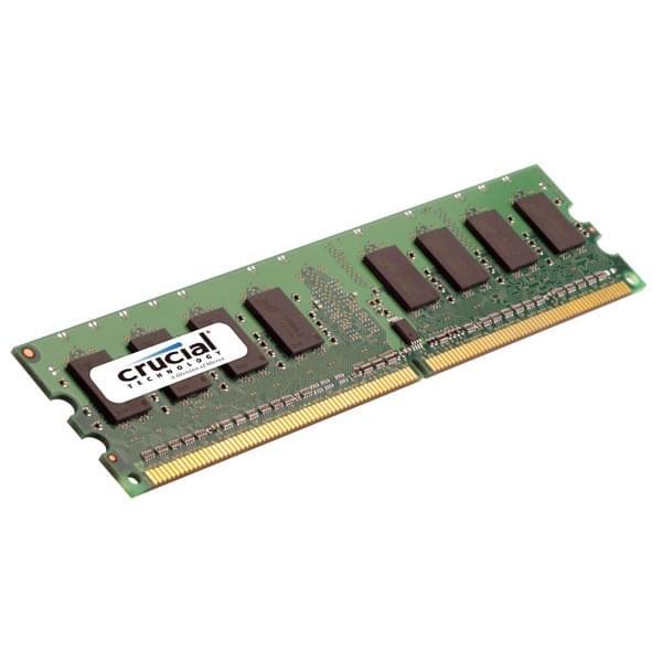 Crucial CT51264AA667 (4Go DDR2 667 PC5300) (CT51264AA667 soldé) - Achat / Vente Mémoire PC sur Cybertek.fr - 0