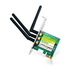 TP-Link Carte Réseau PCI-E WiFi 11n 450MBPS d band 2,4+5GHz TL-WDN4800 Cybertek