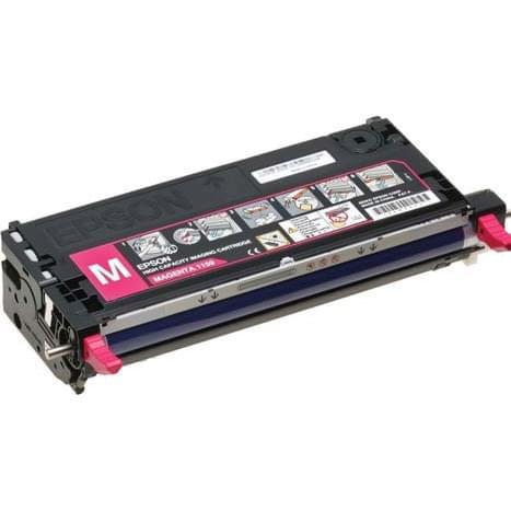 Toner Magenta C13S051163 Std pour aculaser pour imprimante Laser Epson - 0