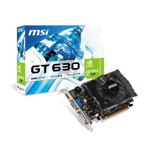 MSI N630 2GD3 (N630-2GD3) - Achat / Vente Carte graphique sur Cybertek.fr - 0