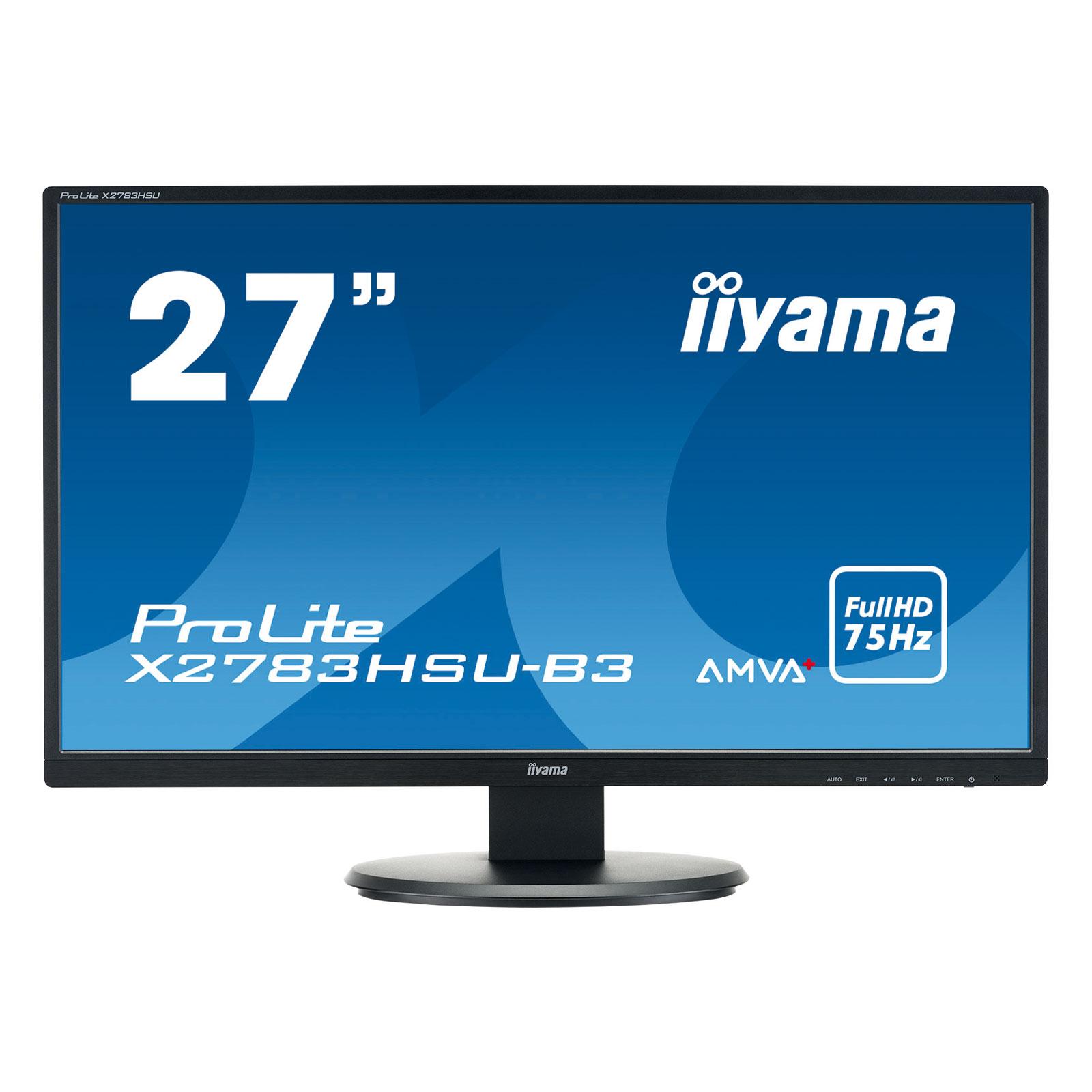"""Iiyama 27""""  X2783HSU-B3 - Ecran PC Iiyama - Cybertek.fr - 3"""