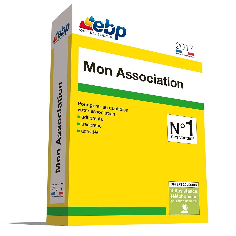 EBP Mon Association 2017 (1049J210FAA) - Achat / Vente Logiciel Application sur Cybertek.fr - 0
