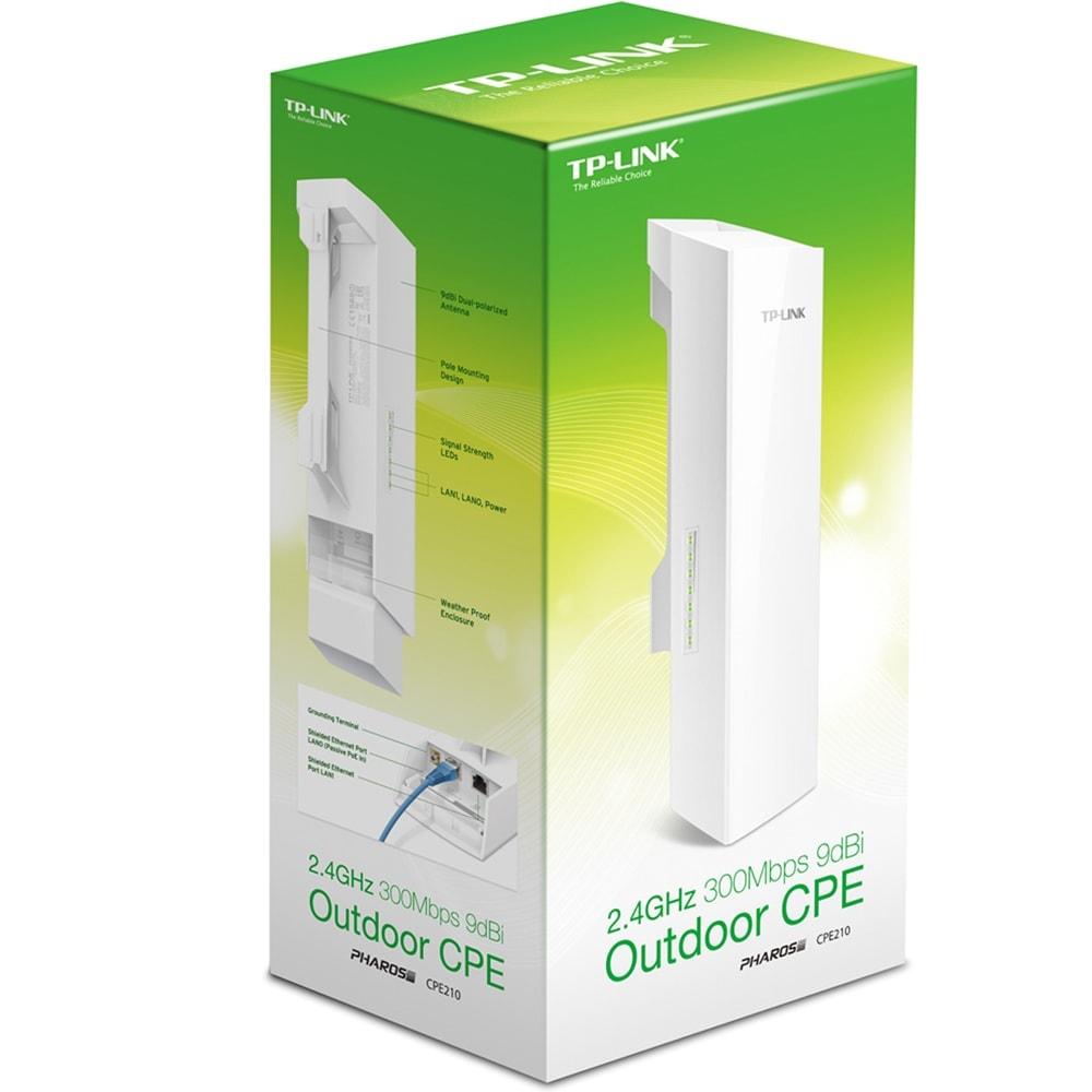 TP-Link CPE210 - 802.11b/g/n (CPE210) - Achat / Vente Point d'accès et Répéteur WiFi sur Cybertek.fr - 3