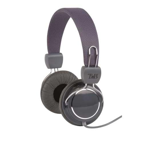 T'nB Pure Stereo Gris - Micro-casque - Cybertek.fr - 0