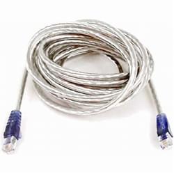 Câble RJ11 Plat 2m Blanc - Connectique réseau - Cybertek.fr - 0