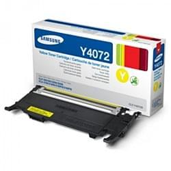 Toner CLT-Y4072S Jaune pour imprimante Laser Samsung - 0