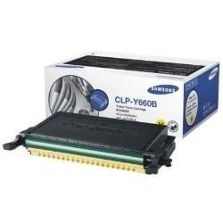 Toner CLP-Y660B Jaune 5000p. pour imprimante Laser Samsung - 0