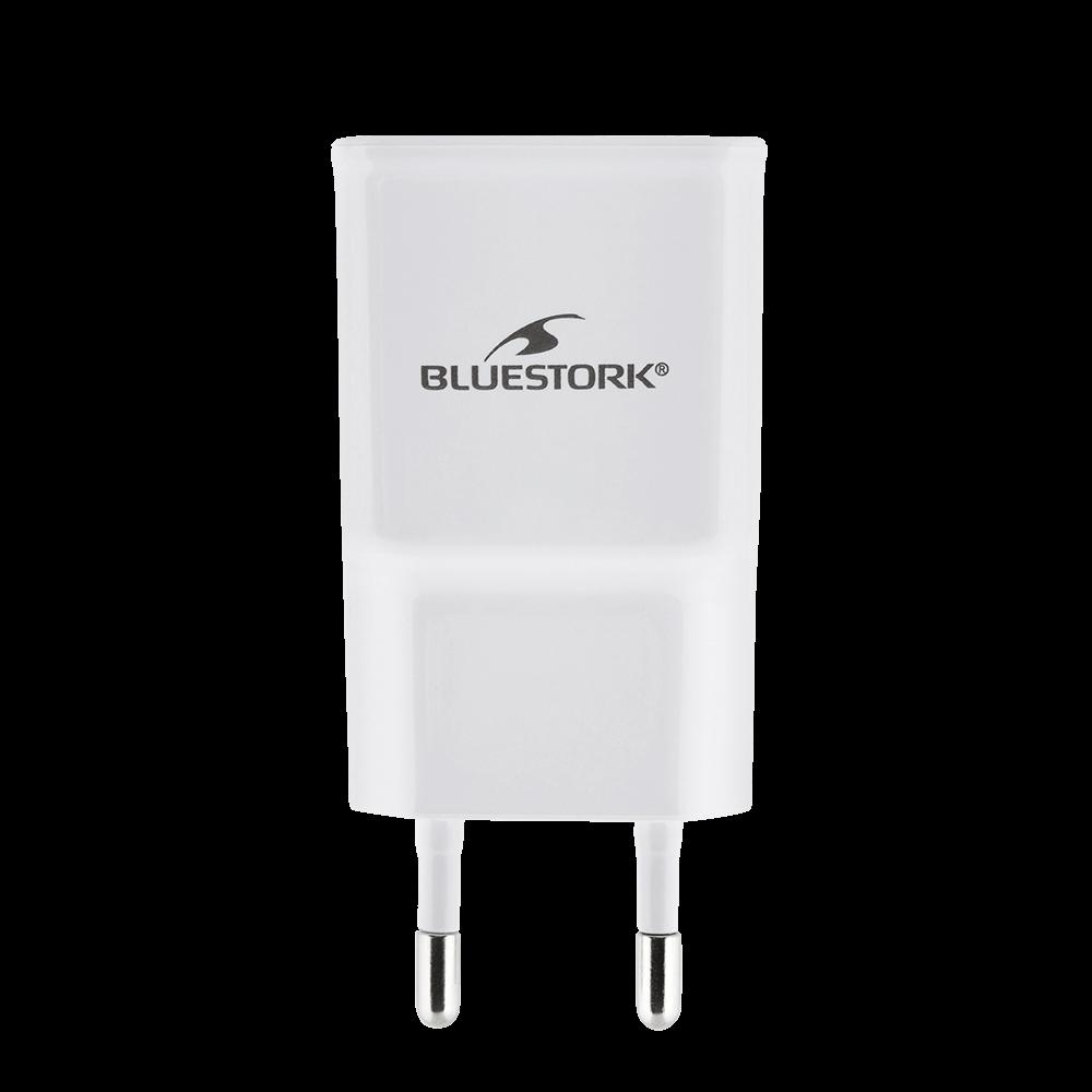 image produit Bluestork Chargeur Secteur 1xUSB 5V 2.1A 10W Cybertek