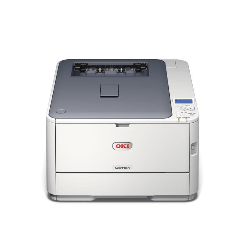 Oki C511dn (LED Couleur/RV/LAN) (44951604) - Achat / Vente Imprimante sur Cybertek.fr - 1