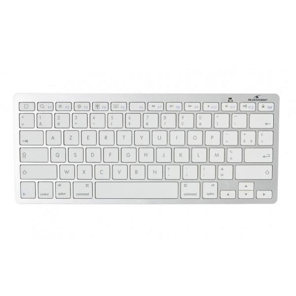 Clavier Bluetooth pour Tablette - Blanc - Accessoire tablette - 0