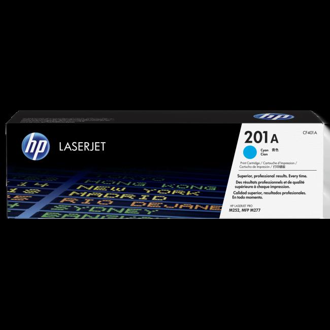 HP Toner 201A Cyan 1400p (CF401A) - Achat / Vente Consommable imprimante sur Cybertek.fr - 0