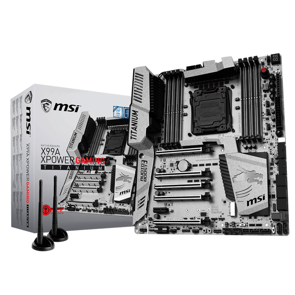 MSI X99A Xpower Gaming Titanium ATX DDR4 - Carte mère MSI - 0