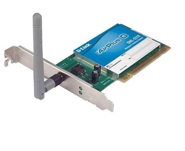 D-Link Carte réseau PCI WiFi 802.11G DWL-G510 (54MB) - 0