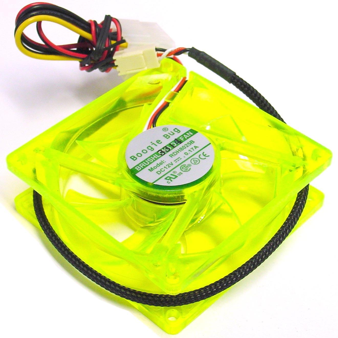 No Name Ventilateur boitier 8cm vert réactif UV (BB-UVFG solde ) - Achat / Vente Accessoire boîtier sur Cybertek.fr - 0