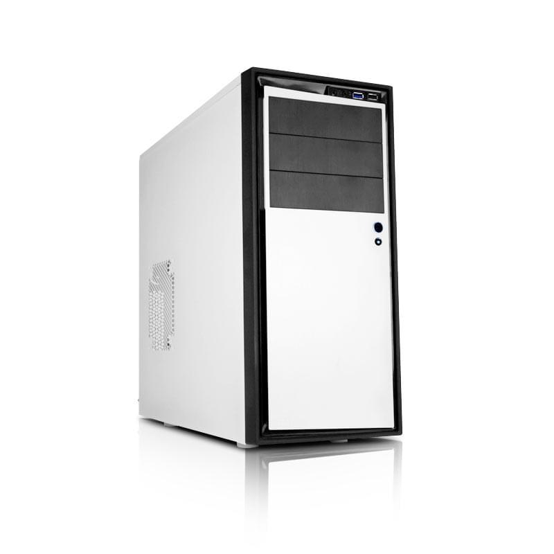 NZXT Source 210 White - Boîtier PC Acier - Sans Alim - 0