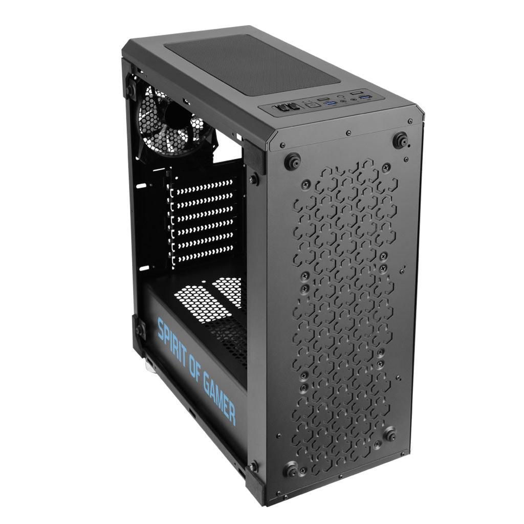 S.O.G ROGUE IV BLUE Noir - Boîtier PC S.O.G - Cybertek.fr - 3