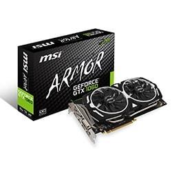MSI Carte Graphique GTX 1060 ARMOR 6G OCV1 - GTX1060/6G/DP/DVI/HDMI Cybertek