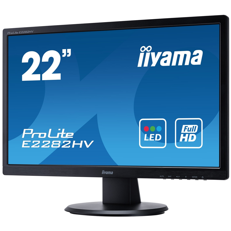 Iiyama E2282HV-B1 (E2282HV-B1) - Achat / Vente Ecran PC sur Cybertek.fr - 1