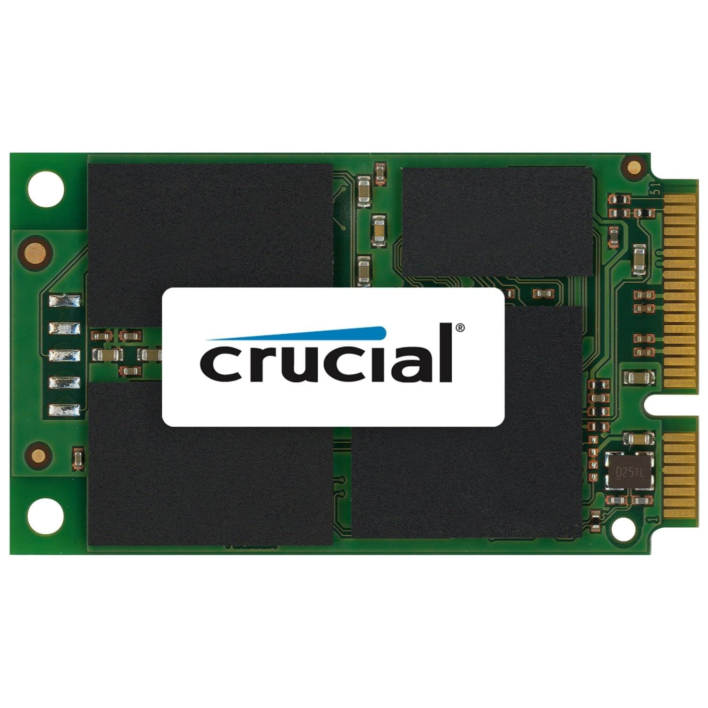 Crucial 128Go SSD mSATA M4 120-128Go - Disque SSD Crucial - 0