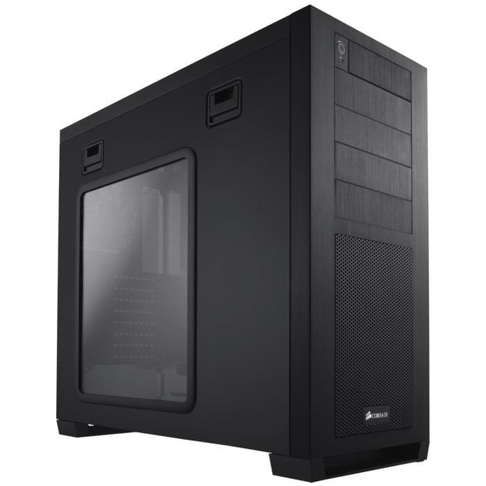 Corsair Obsidian 650DW - Boîtier PC Aluminium - Sans Alim - 0
