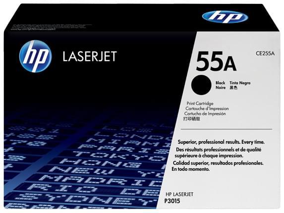 HP Toner Noir HP 55A 6000p (CE255A) - Achat / Vente Consommable Imprimante sur Cybertek.fr - 0