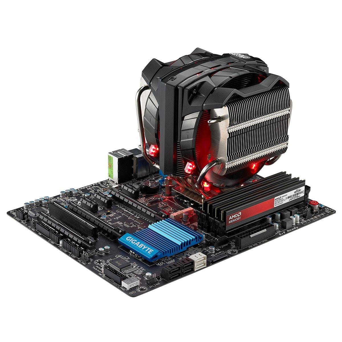 Cooler Master LGA775/1155/1151/1150/2011/2011-3 - Ventilateur CPU - 4