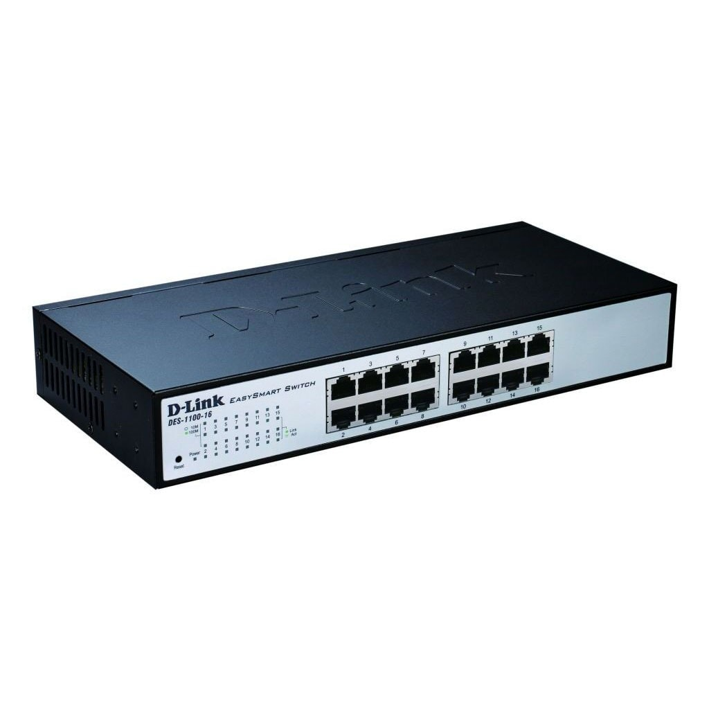 Switch D-Link 16 Ports 10/100 Manageable - DES-1100-16 - 0