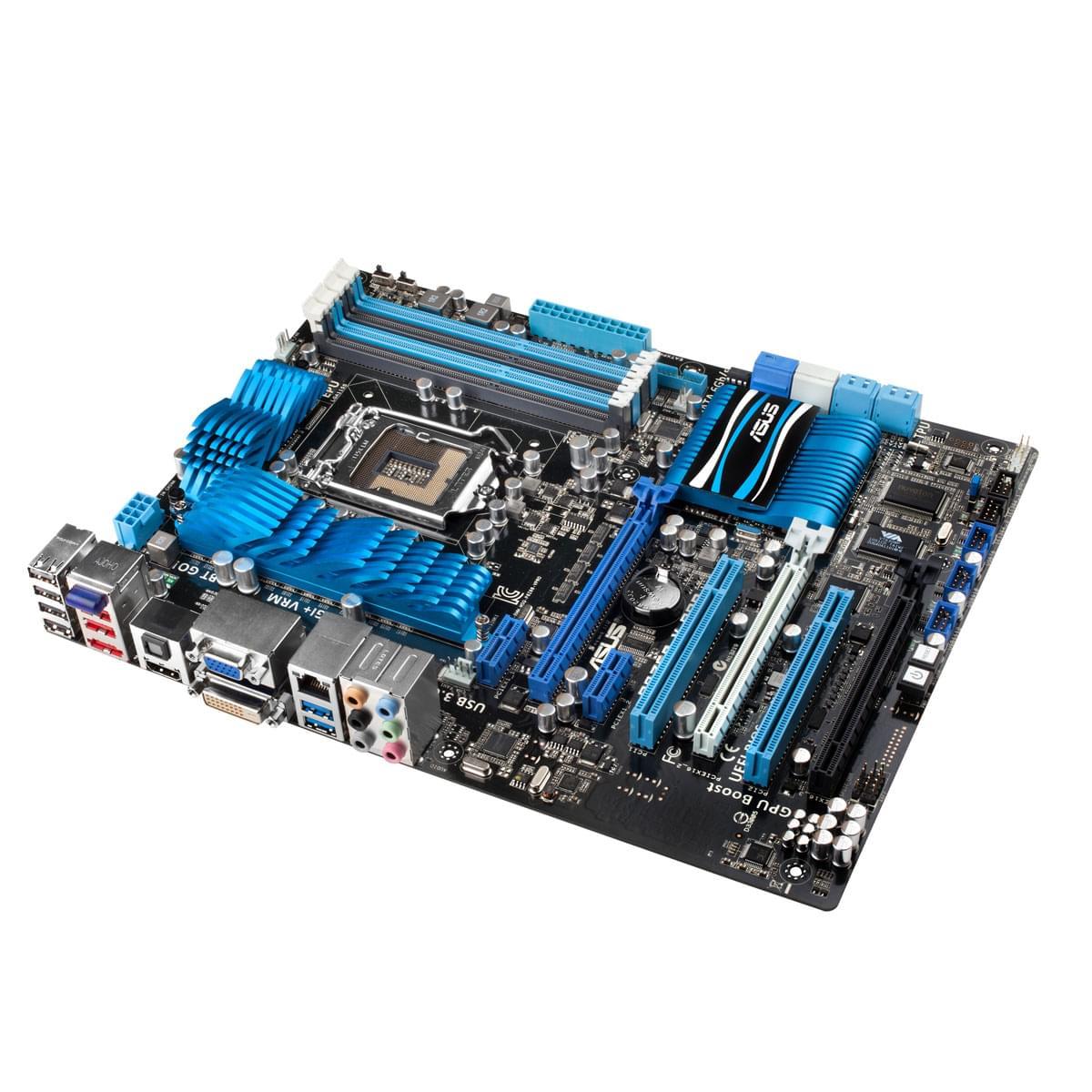 Asus P8Z68-V ATX DDR3 - Carte mère Asus - Cybertek.fr - 0