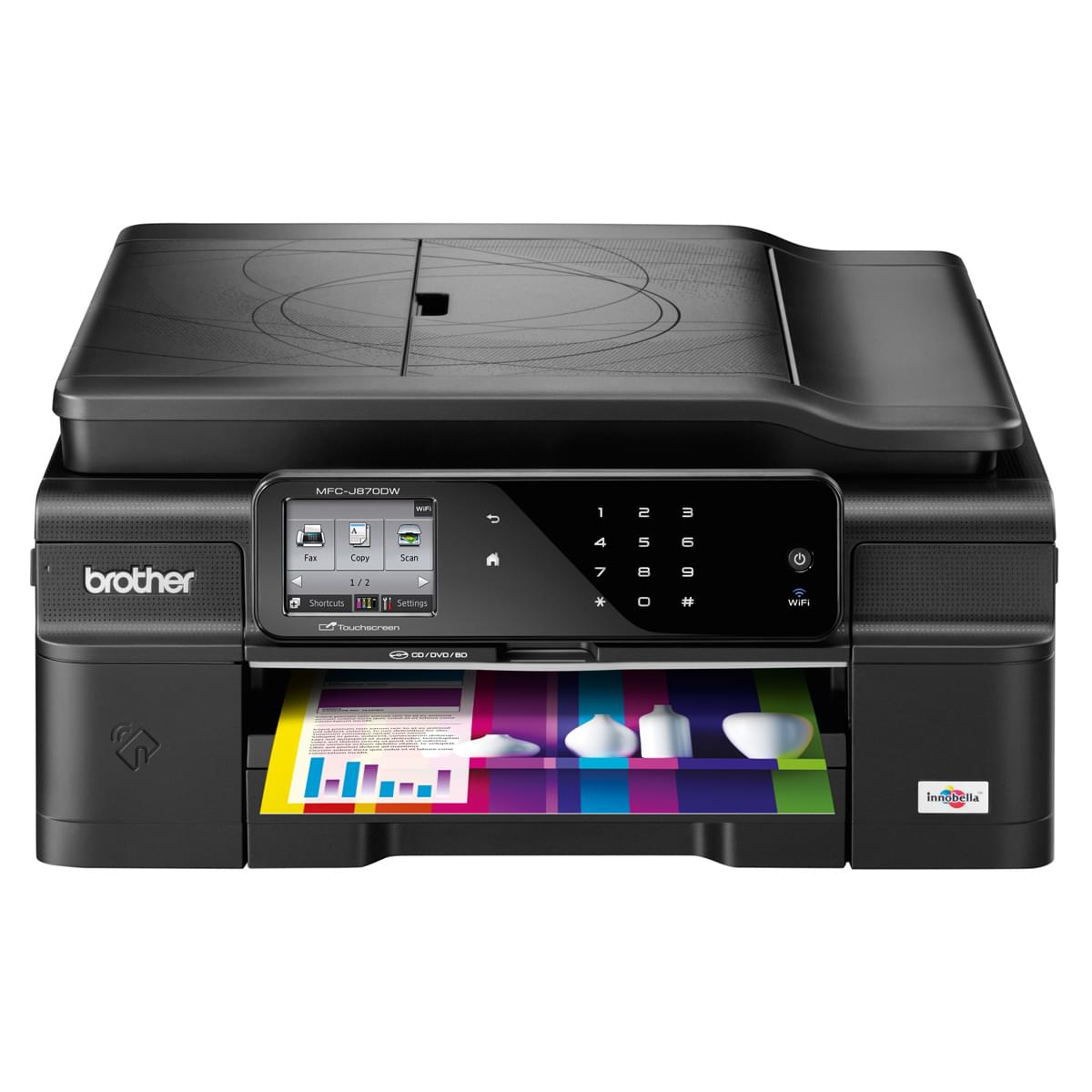 Brother MFC-J870DW (MFCJ870DWF1 arret work-it) - Achat / Vente Imprimante Multifonction sur Cybertek.fr - 0