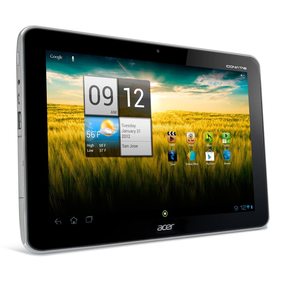 Acer A210 16Go Gris - Tablette tactile Acer - Cybertek.fr - 0