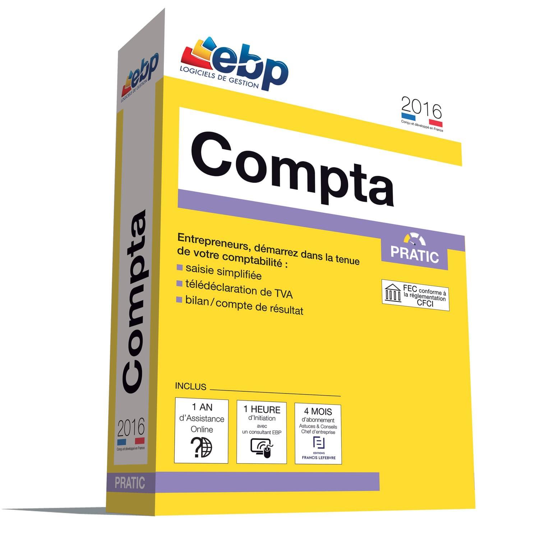 EBP Compta Pratic 2016 + VIP (1066E081FAA) - Achat / Vente Logiciel Application sur Cybertek.fr - 0