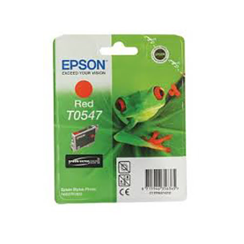 Consommable imprimante Epson Cartouche T0547 Stylus R800 Red