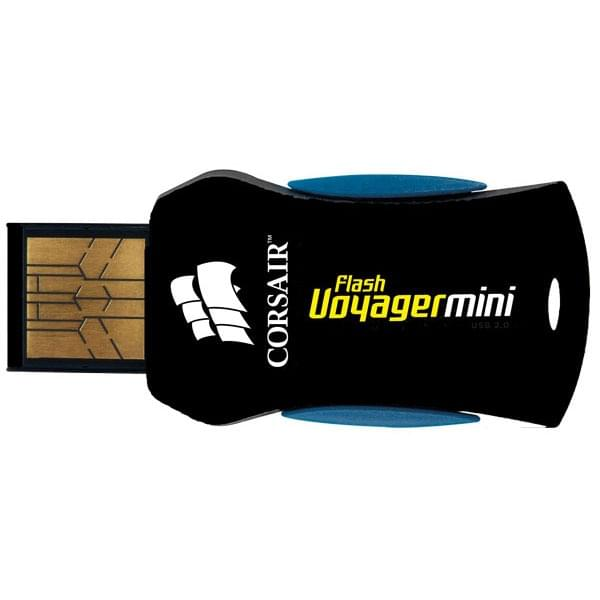 Corsair 32Go Mini USB 2.0 Flash Voyager - Clé USB Corsair - 0