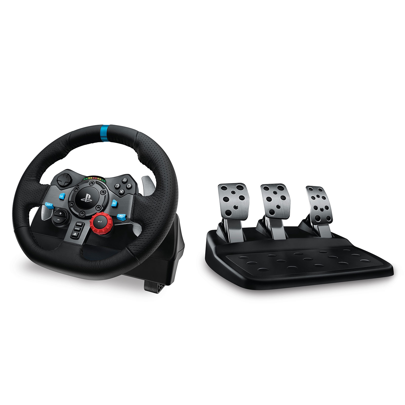 Logitech Volant G29 Driving Force (PlayStation 3/4 & PC) (941-000112) - Achat / Vente Périphérique de Jeu sur Cybertek.fr - 0