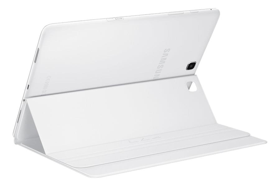 "Book Cover blanc EF-BT550P pour Galaxy Tab A 9.7"" - 0"