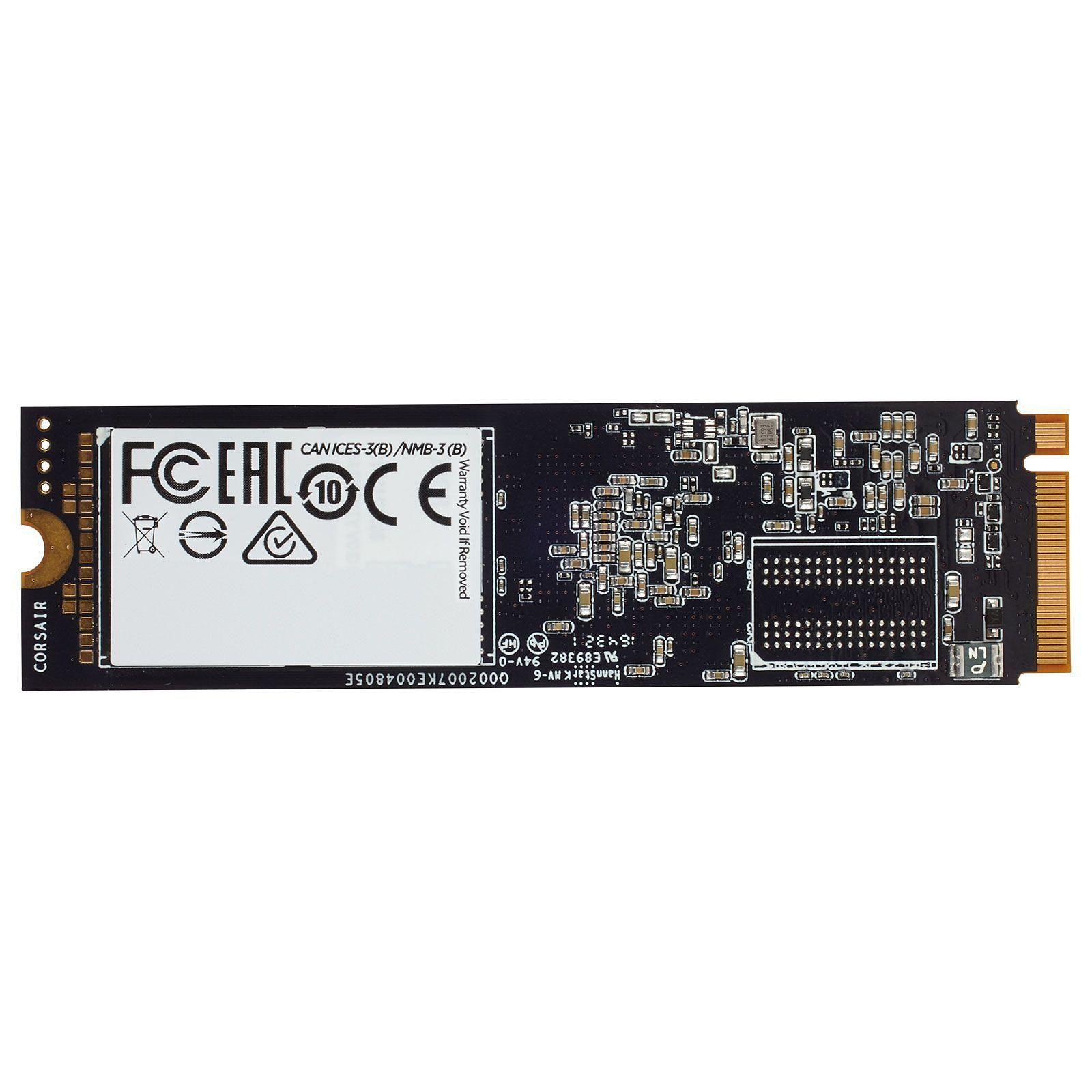 Corsair CSSD-F480GBMP510B 480-525Go M.2 - Disque SSD Corsair - 1