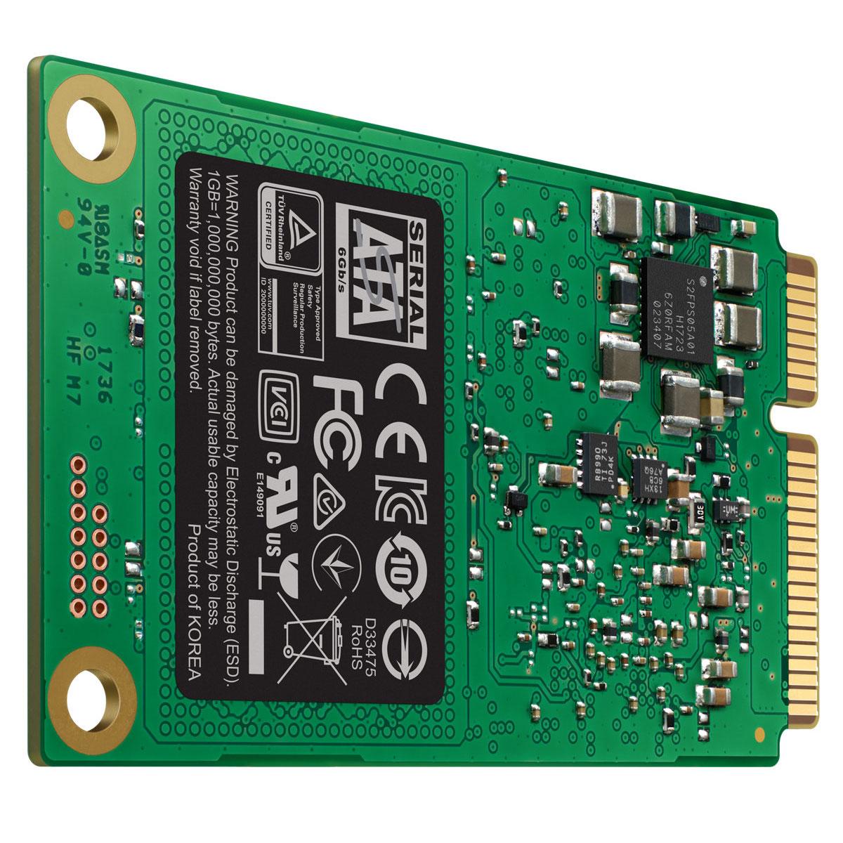Samsung 860 EVO 240-275Go mSATA - Disque SSD Samsung - Cybertek.fr - 1