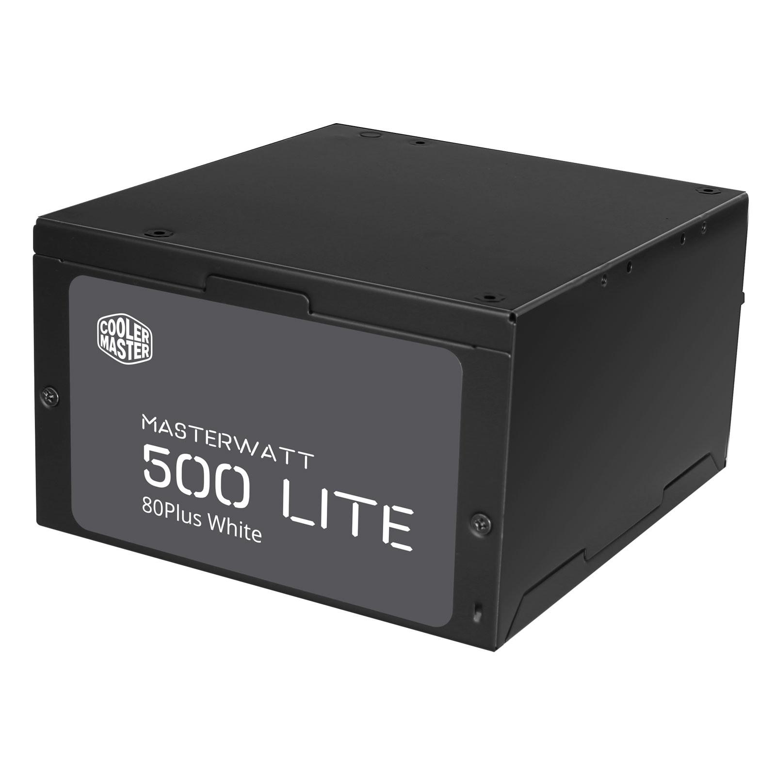 Cooler Master MasterWatt Lite (500W) - Alimentation Cooler Master - 1