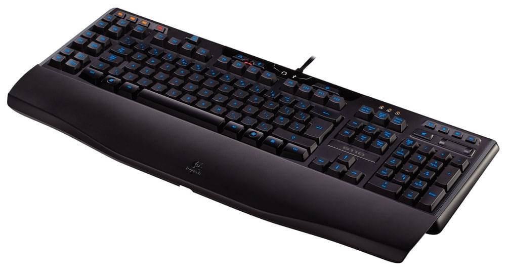 Logitech Gaming Keyboard G110 (920-002234) - Achat / Vente Clavier PC sur Cybertek.fr - 0