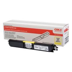 Oki Consommable Imprimante Toner Jaune 1500p - 44250717 Cybertek