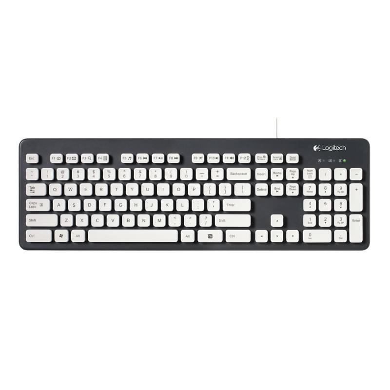 Logitech Washable Keyboard K310 (920-004039) - Achat / Vente Clavier PC sur Cybertek.fr - 0
