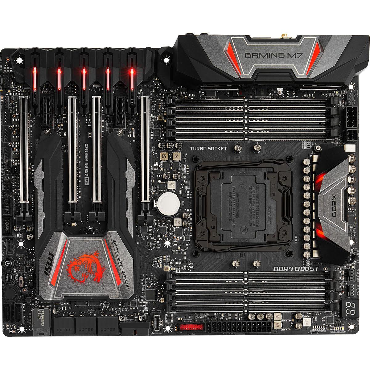 MSI X299 GAMING M7 ACK ATX DDR4 - Carte mère MSI - Cybertek.fr - 4