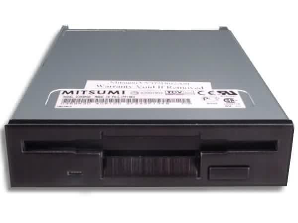 """No Name Lecteur de disquettes 3""""1/2 1.44Mo Noir (332010) - Achat / Vente Archivage sur Cybertek.fr - 0"""