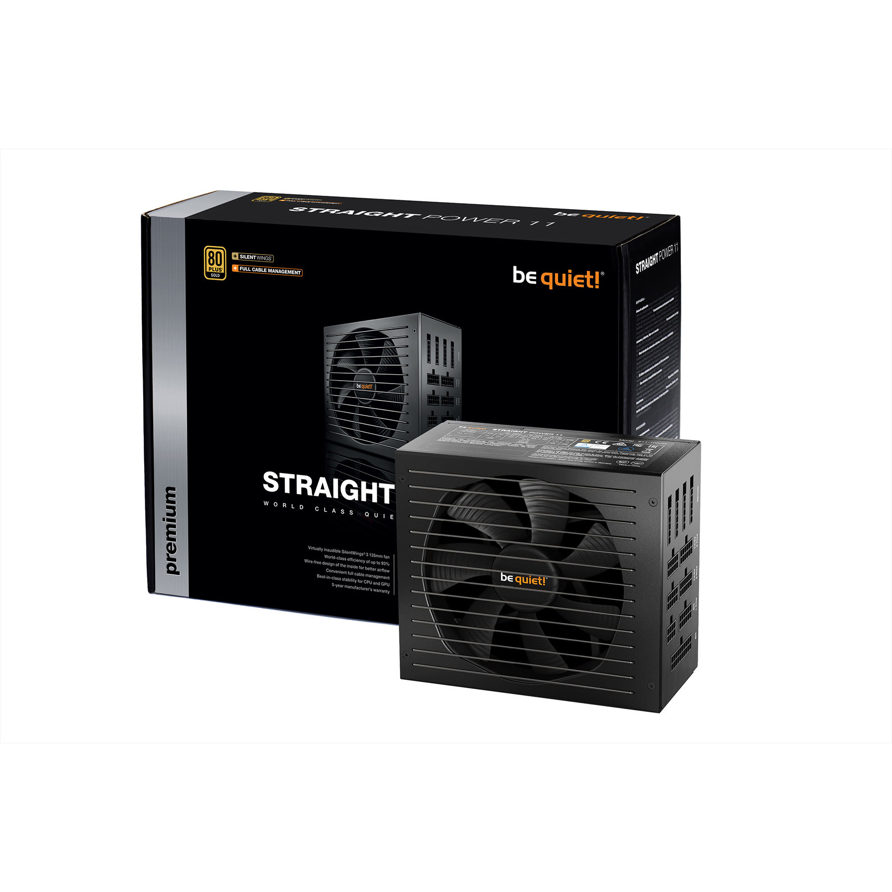Be Quiet! Straight Power 11 80+ GOLD (850W) - Alimentation - 0