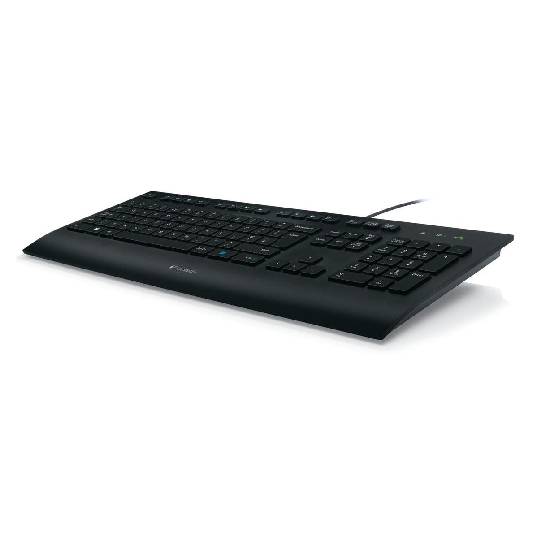 Logitech Corded K280e - Clavier PC Logitech - Cybertek.fr - 0