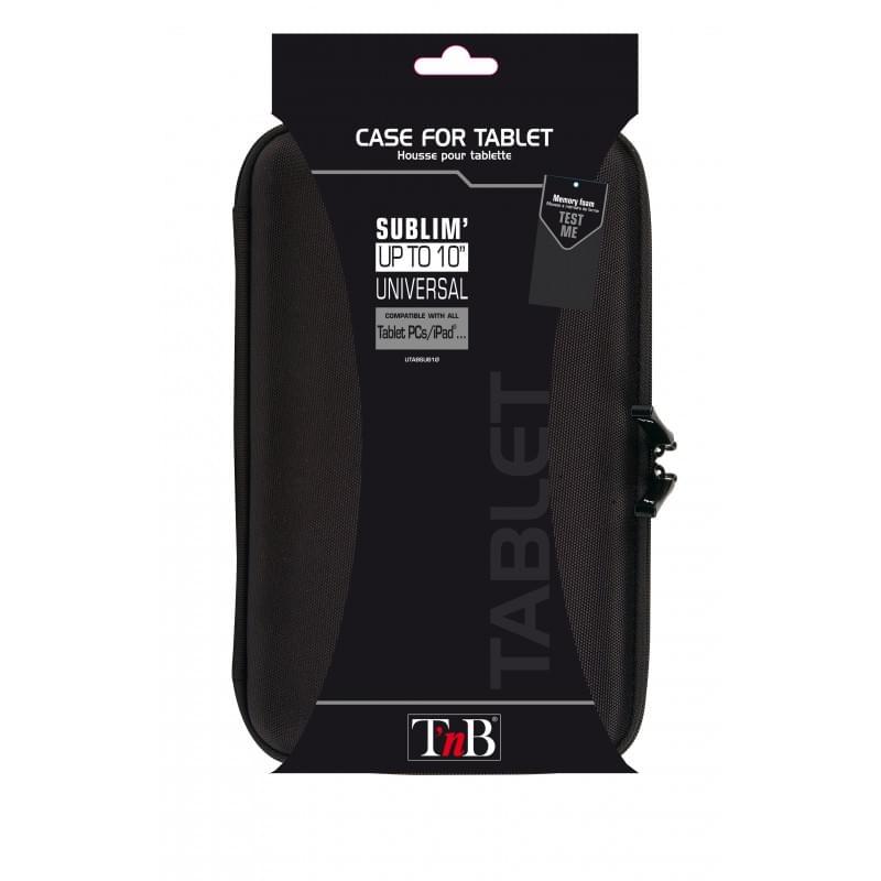 """Sublim - Housse protection universelle 10"""" - Noire - 0"""