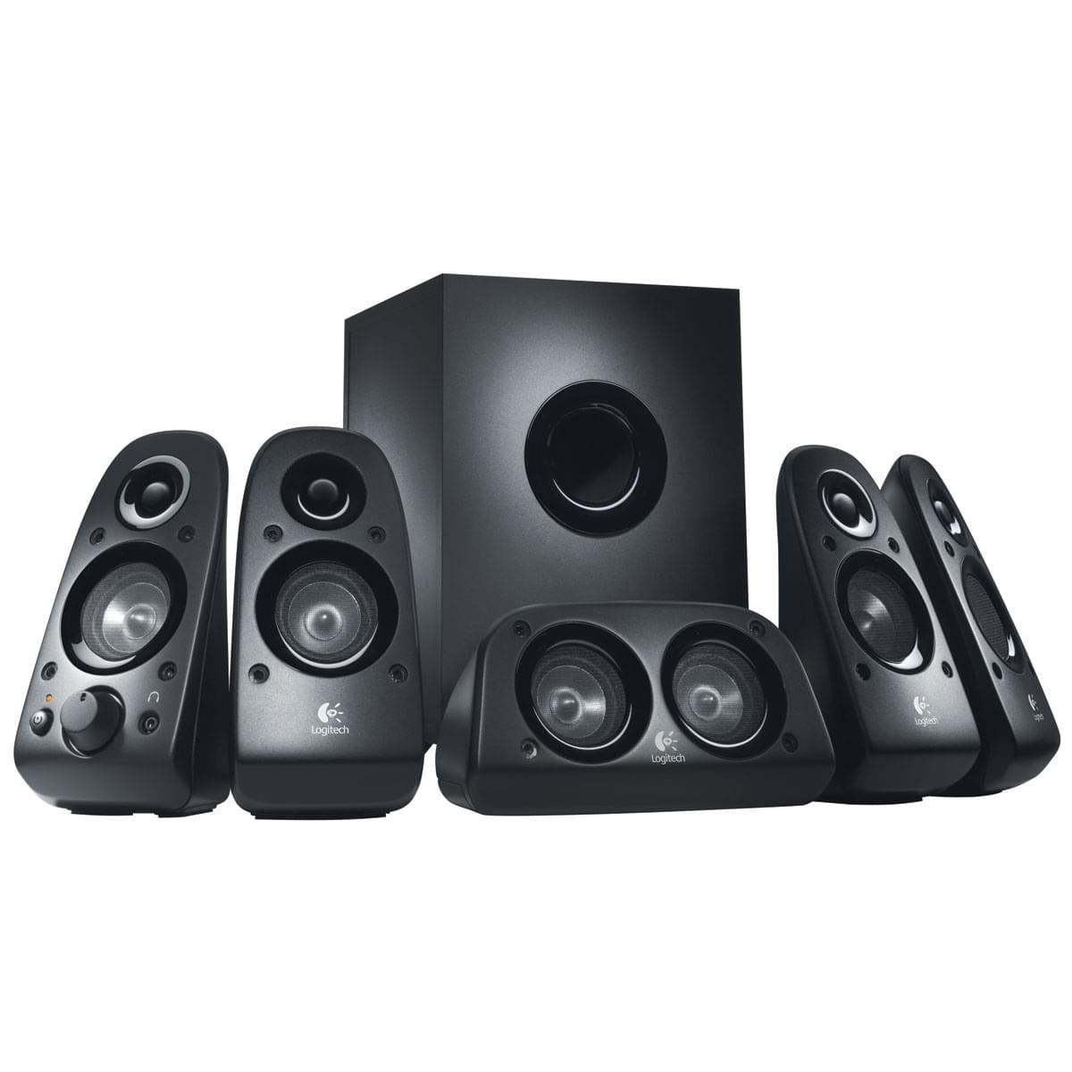 Logitech 5HP+Caisson Surround Sound Speaker Z506 - Enceinte PC Logitech - 0