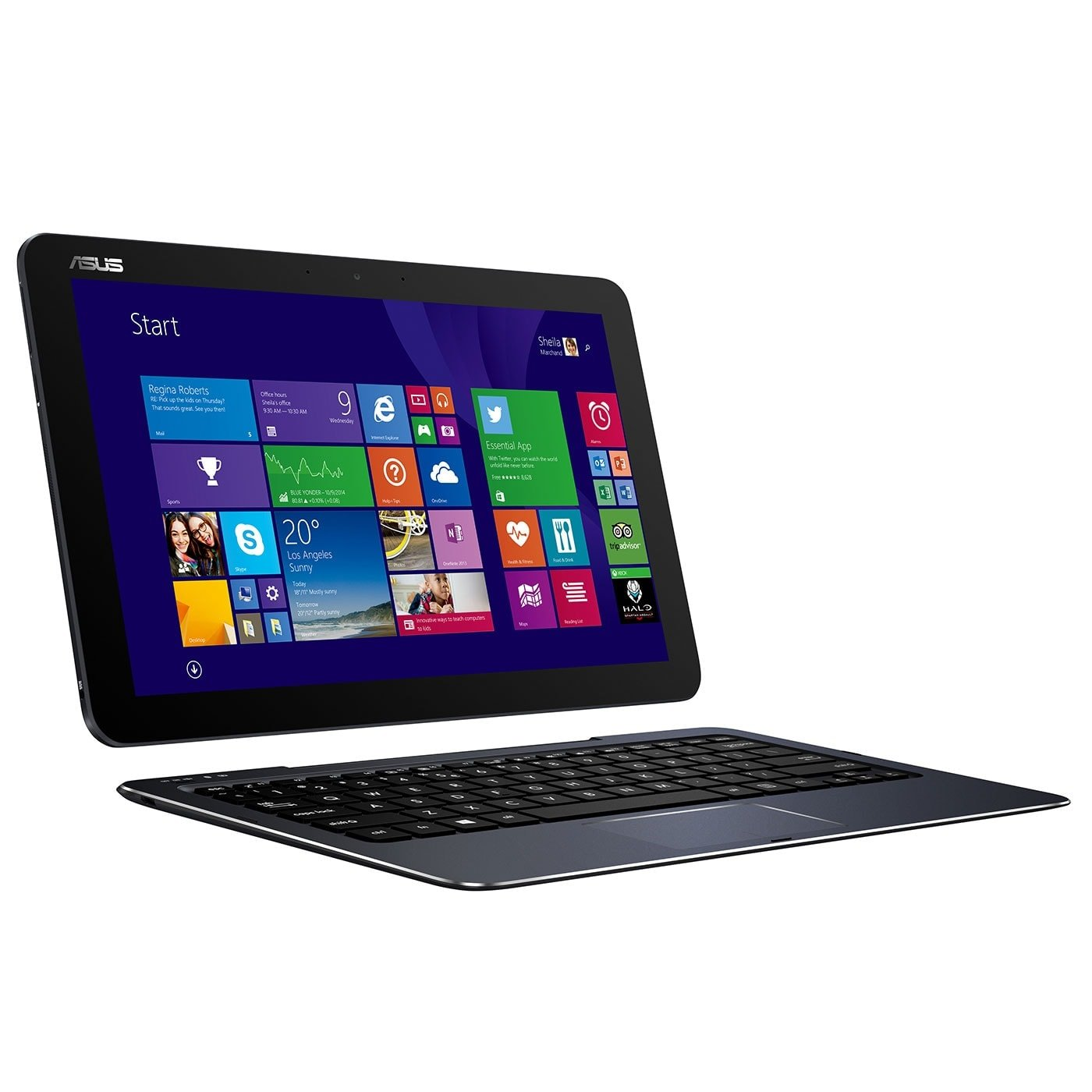 "Asus T300CHI_C-FL0005P -M-5Y71/8Go/128Go/12.5""T./8.1P (90NX00B1-M00050) - Achat / Vente PC Portable sur Cybertek.fr - 0"