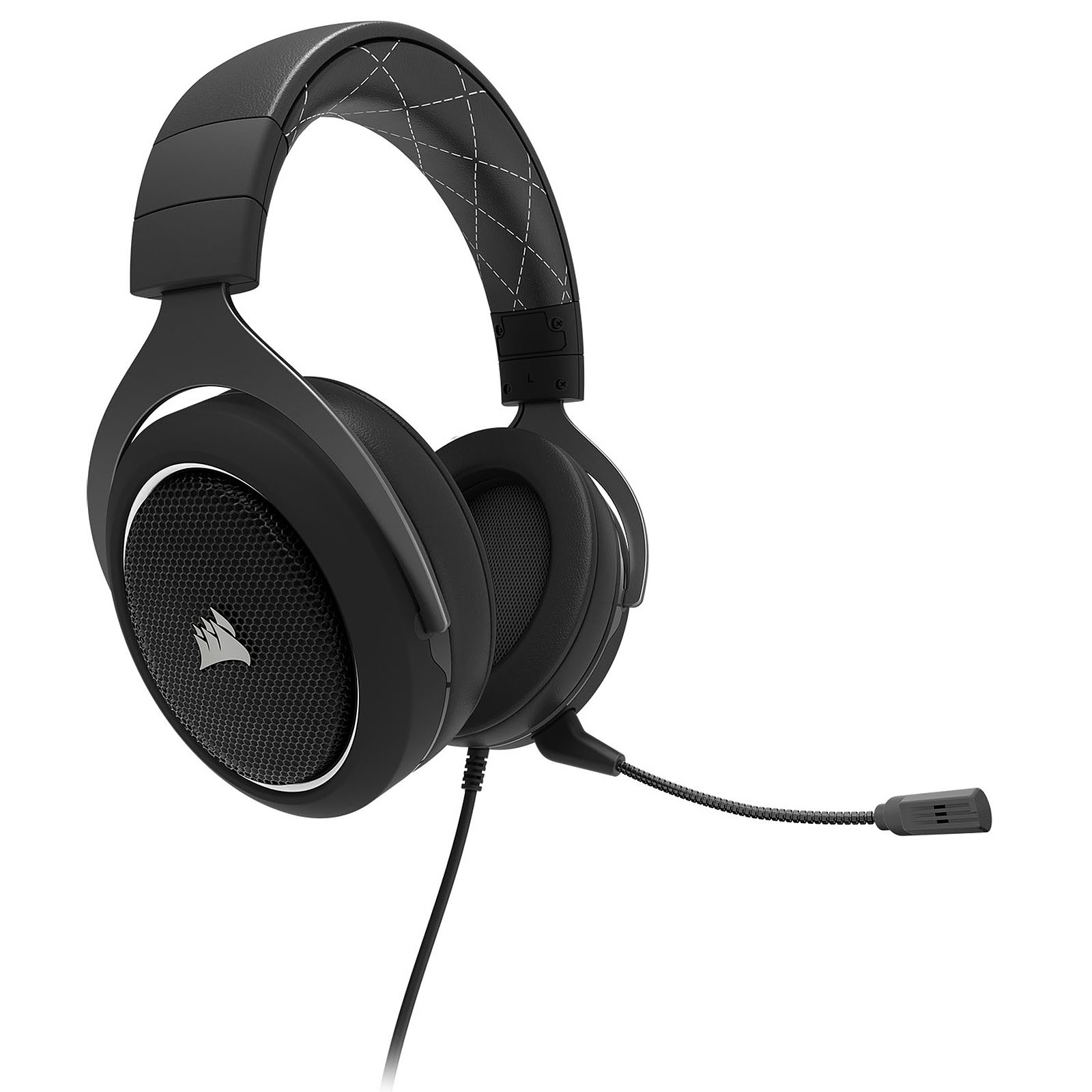 Corsair HS60 Surround White 7.1 Surround Noir - Micro-casque - 0
