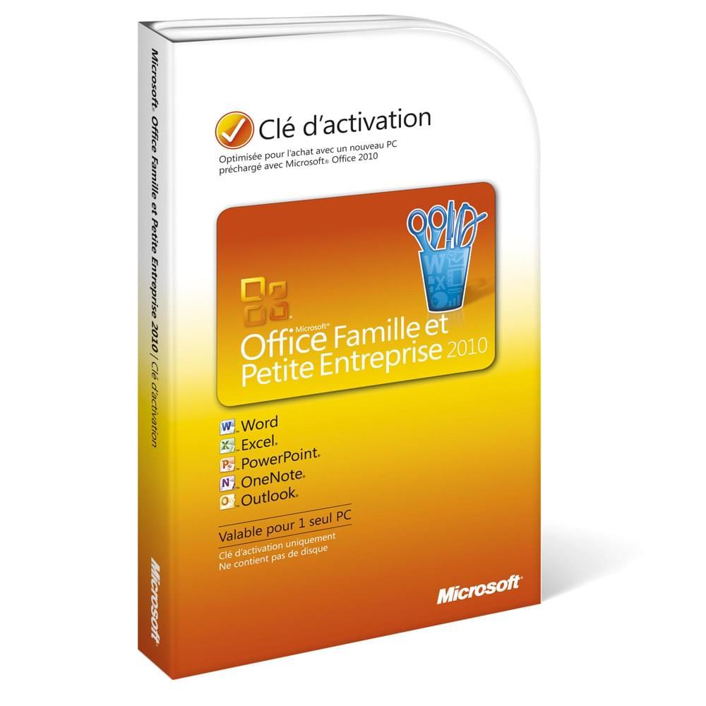 Microsoft Office Famille/Petite Entreprise 2010 OEM Cybertek (T5D-00021 CYBERTEK) - Achat / Vente Logiciel Suite bureautique sur Cybertek.fr - 0
